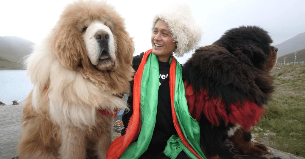 Mark Wiens when in Tibet tour.