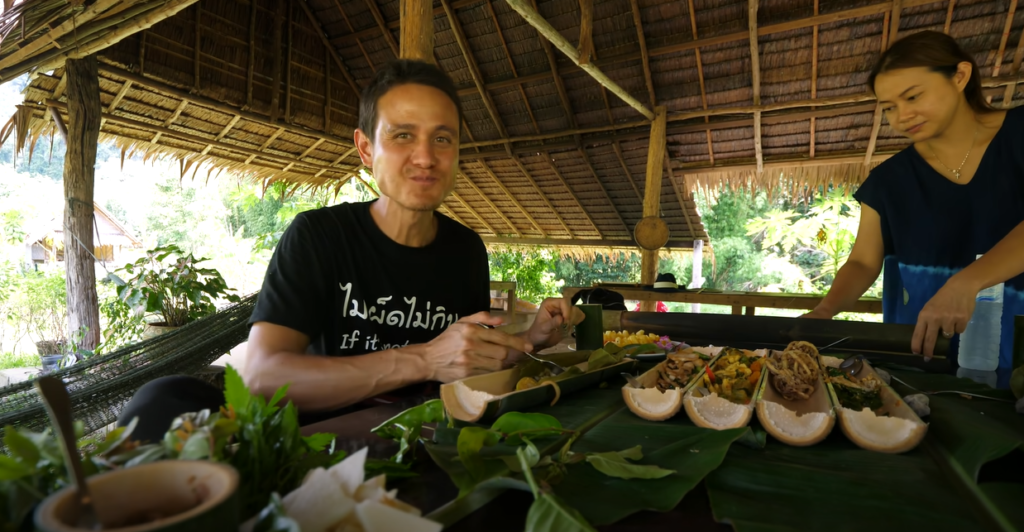Mark in Thailand Village