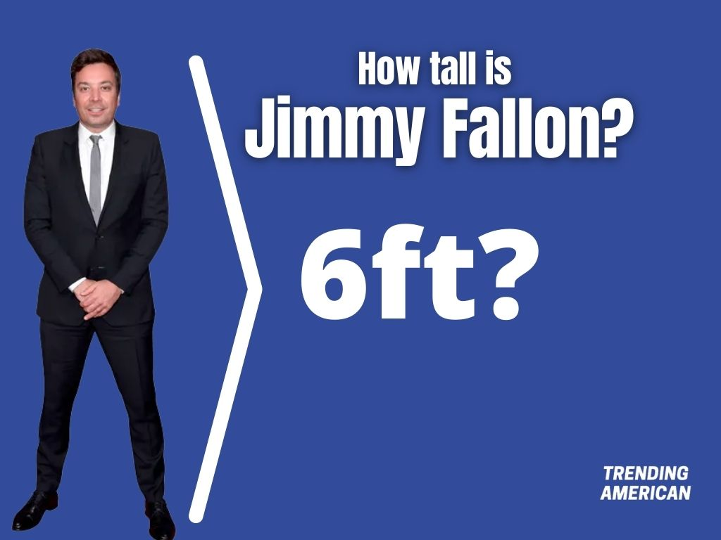 How tall is Jimmy Fallon? Jimmy Fallon height.